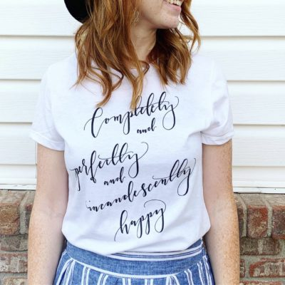 Pride and Prejudice Shirt: The Story